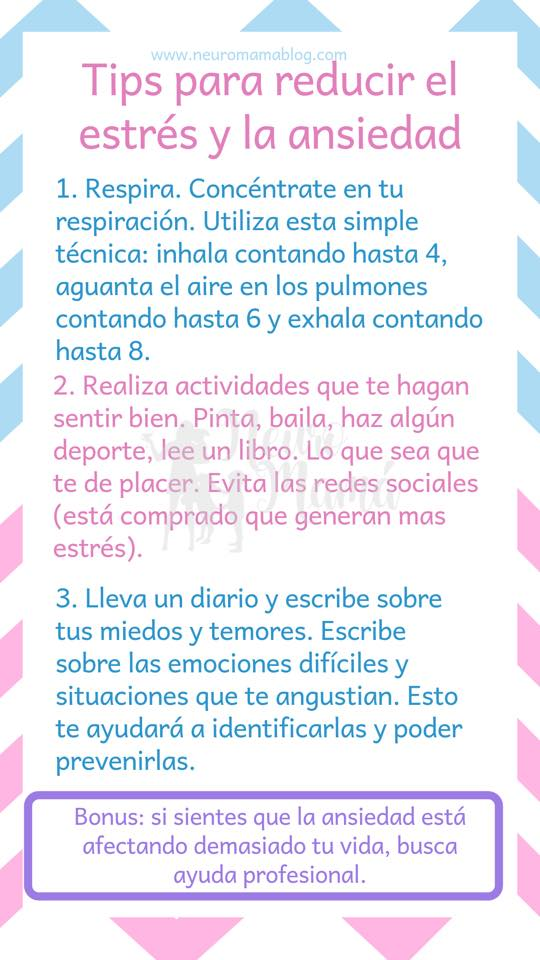 Tips para mantener tu Salud Mental de Madre